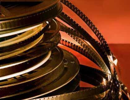 Reels of film for a film festival