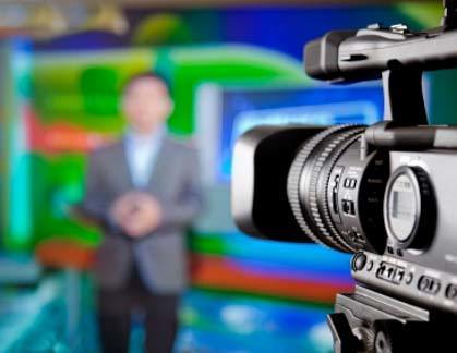 news being televised