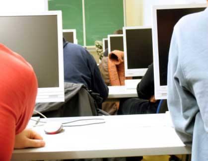 web designers in a classroom